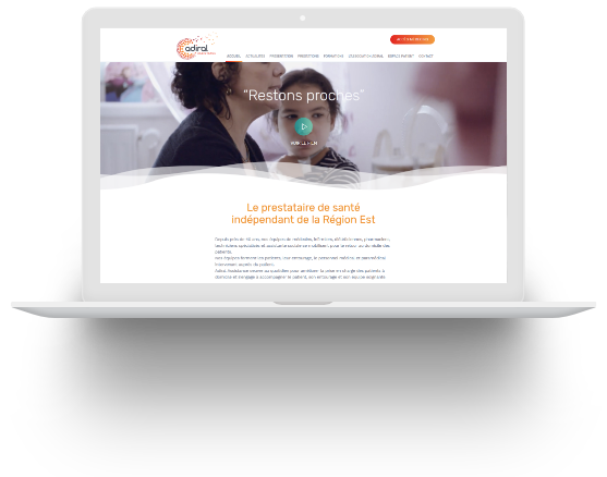 Adiral Assistance homepage